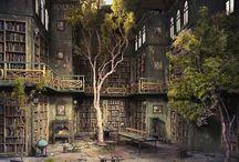 Library / by Ashley Boyce