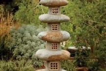 Garden Art Stones / More than just a yard full of rocks, this category includes art created from stones and rocks, either arranged in or carved in creative ways. / by Ann Ayers