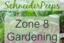 Zone 8 Gardening / zone 8 gardening group board / by SchneiderPeeps
