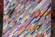 quilts - strippy/stringy / by Tonya Ricucci