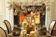 Christmas table ideas / by Renee Templeton