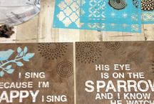 diy wall craft love / by Renee Person