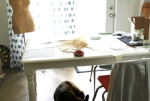 Sewing Spaces  / Ideas for creating a beautiful place to create / by Threads Magazine