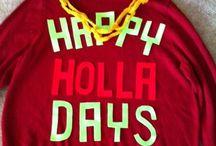 Holidays / by Leigh Enselman