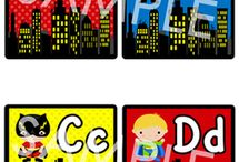 Super Hero Theme / by Allison Harper