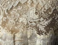 Lovely lace / lace items & antique fabrics / by Jeri Mork