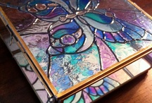 Stain Glass Boxes, Lamps, Different Things / by Cheyenne Whitebird