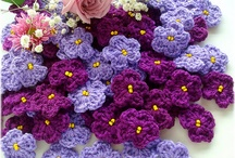 Crocheted flowers / by Maria Serge