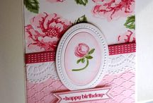 Cards with a Rose / by Bonnie Brang
