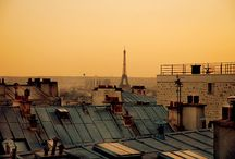 The Paris in my Heart. / I spent a year living in Paris. It's left an indelible mark on my heart. I continue to go back and visit. Paris is my mistress. / by Jasmine Slovak