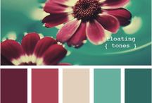 Colour Pallets for My Home / by Melissa Belter