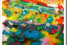 Art For Preschoolers & Toddlers / by Play Create Explore