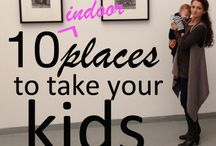 Places to Take the Kids (for all MOMS + SAHM and WAHM)  / These are the places I take my son in all kids of weather.   / by reasonstodress