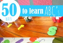 Learning Letter Sounds / by Rachael Terantino