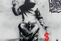 Banksy / by Sharon Davey