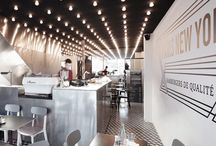 Restaurant + Cafe Interiors / by Samira Ghadimi