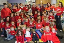 Go Red Day 2014 / Go Red for Women to raise awareness of heart disease.  / by Hunterdon Healthcare