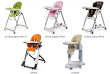 At Home / Keep baby comfy, safe and close to the family with our stylish and multifunctional high chairs and booster chair. / by Peg Perego