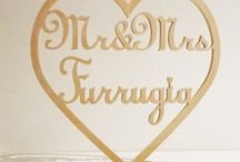 Rustic Wedding Decorations / by Pink Frosting