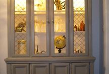 China cabinet / by Carrie Isola
