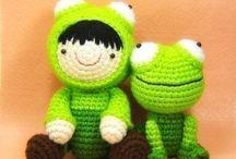 Amigurumi - Ranas (Frogs) / by ganchilloypunto.com