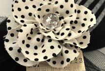 Fabric Flowers / by Nia De Alba