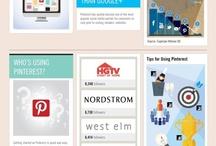 Pinterest Marketing Infographics / by Ralph Ruckman