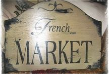 French Market Whimsy / by The Journey Key