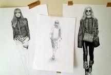 Fashion Illustration  / art, fashion illustration / by Melissa Vitale