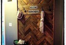 coat rack / by Jasmine Franklund-Mavity