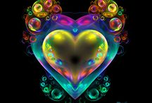 """Valentines Day Bubbles / Happy Valentines Day. Bubble art: """"My Heart Bubbles Over"""" by wolfepaw.  / by Extreme Bubbles, Inc."""