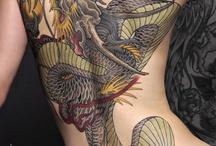 Tattoo's / by Darcy York