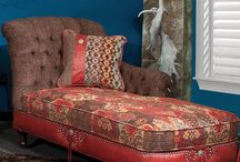 fabric color and furniture ideas / by Kim Knipe