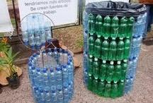 Reciclaje de plásticos - Botellas / by Lina