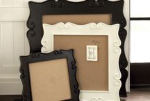 Frames and displays / by Teri Grant
