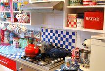 Funky Cute Kitchens / by Anya Selner