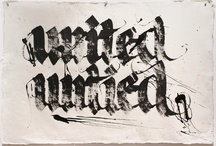 Calligraphy & Hand Lettering / by Charles Brock