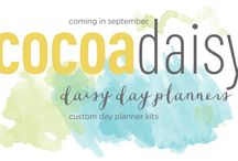 Cocoa Daisy Day Planner Kits / Cocoa Daisy is a monthly paper crafting kit club now offering Day Planner kits for planner addicts. Our page refills and kits work with most planners including Filofax, Kikki K. and Day Timer. Sizes A5 and personal. / by Cocoa Daisy