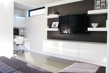office nooks and wall units / by Uniquely Designed