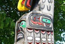 Pole wonders / Totem pole's / by Teresa Wood
