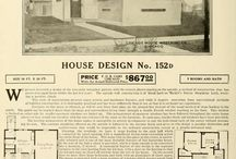 Prairie School Homes / A selection of trade catalog examples from the Building Technology a heritage Library. / by Mike Jackson, FAIA