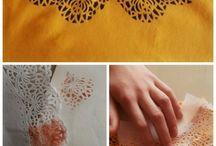 DIY - vêtements & sacs (textile) / by Liz-Ln Comdeuxfilles