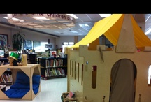 Library Spaces (elementary) / Find inspiration for fun, inviting elementary school libraries here! / by Cari Young