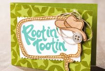 YEE HAW / by Creatin' With Kirsteen: Kirsteen Gill Independent Stampin' Up! Demonstrator