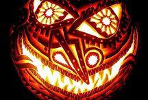 Pumpkin & Melon carvings & sculptures / by Terri Altherr
