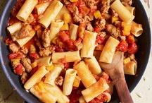Pasta Recipes / by Pauletta Dotson
