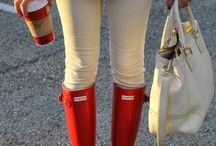 Hunter Rain Boots <3 / by Vanessa Nichole