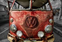 Old Volkswagens / by Jeff Watson