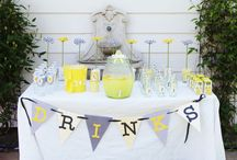 Bumble bee sweet table ideas / by Madeline Morcelo