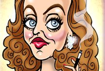 CARICATURES / by Penny Valadez